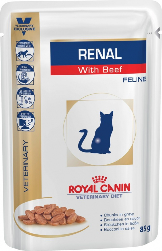 Royal Canin Veterinary Diet Feline Renal - 2 saveurs