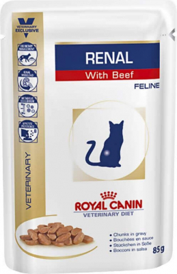 Royal Canin Veterinary Diet Feline Renal  - 2 sabores