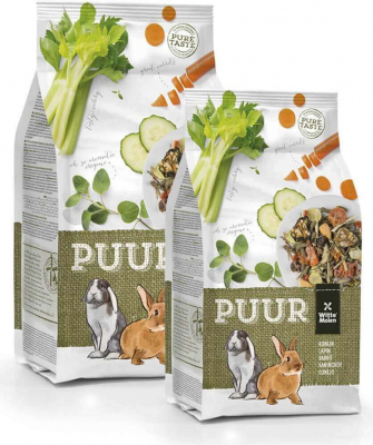 Aliment complet Lapin Nain PUUR