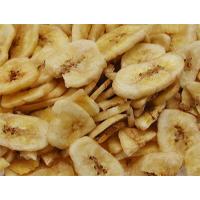 Tranches bananes séchées pour perroquet