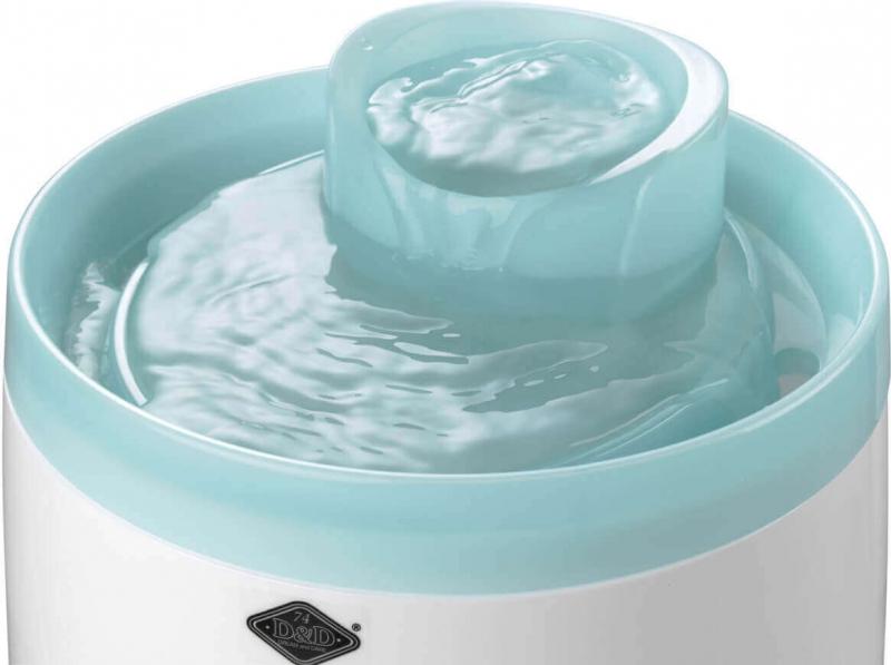 Fontaine à eau Cascade 1,5L pour chats et petits chiens