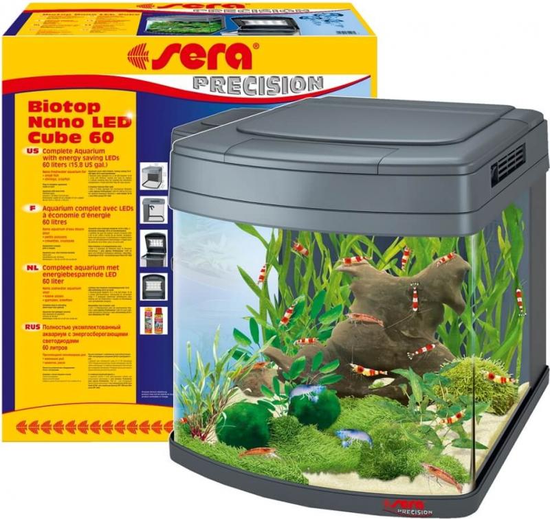 Aquarium Sera Biotop Nano LED Cube 60