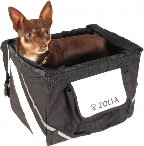 ZOLIA Front Dog Basket Bicycle