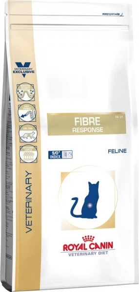 ROYAL CANIN Veterinary Diet Cat Fibre Response FR31