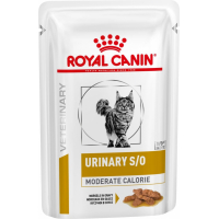 Royal Canin Veterinary Diet Feline Urinary S/O Moderate Calorie - 12x85g