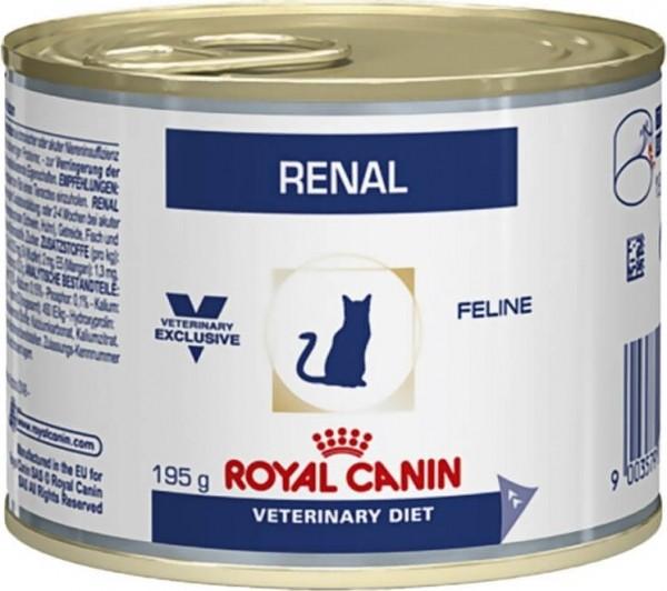 Boîte Royal Canin Veterinary Diet Feline Renal au Poulet