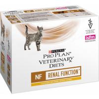 Pack de 10x Pâtées PRO PLAN Veterinary Diets Feline NF ST/OX Renal Function