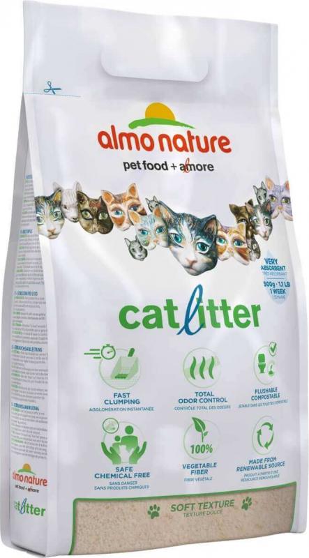 Litière CatLitter Almo Nature pour chat