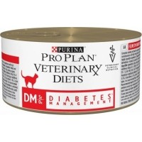 Pâtée PRO PLAN Veterinary Diets Feline DM ST/OX Diabetes Management - 195g