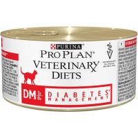 Pâtée PRO PLAN Veterinary Diets Feline DM ST/OX Diabetes Management - 195g