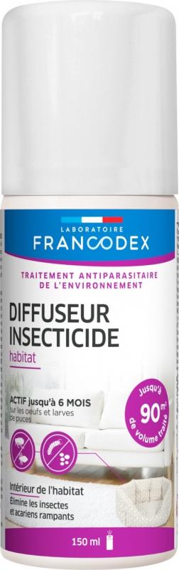 Francodex Fogger insecticide habitat