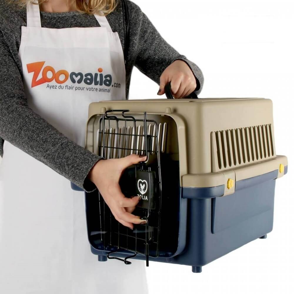 Cat and dog transport cage ZOLIA TRAVELER IATA_1