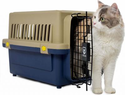 Cage de transport robuste pour chat et chien ZOLIA TRAVELER