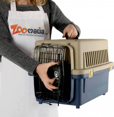 Cage de transport robuste pour chat et chien ZOLIA TRAVELER IATA