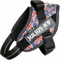 JULIUS K9 Harnais IDC-Power Drapeau Britannique
