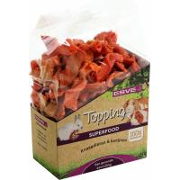 Karottenchips für Nagetiere