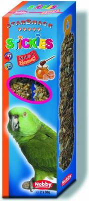 Snack perroquet STICKIES noix & miel