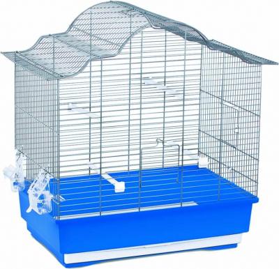 Cage petits oiseaux SOPHIA bleue