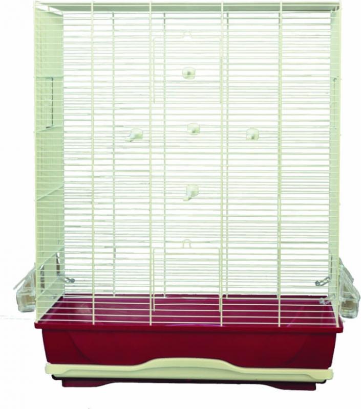 Cage AMBRA pour petits oiseaux - H 74 cm