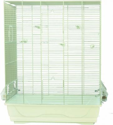 Cage AMBRA pour petits oiseaux coloris blanc