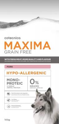 MAXIMA Grain Free Sans Céréales Hypoallergenic PORC