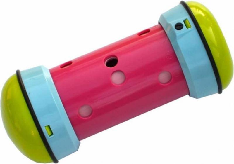 PIPOLINO distributeur de croquettes anti-stress tricolore