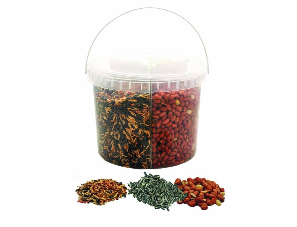Seau ENJOY NATURE mélange tournesol / arachides / graines_0