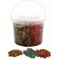 Seau ENJOY NATURE mélange tournesol / arachides / graines