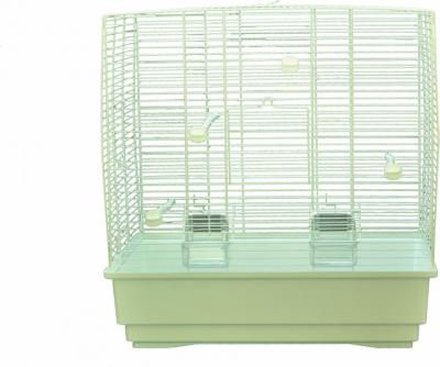 Cage petits oiseaux MOIRA blanc