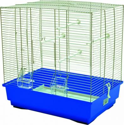 Cage petits oiseaux MOIRA bleu