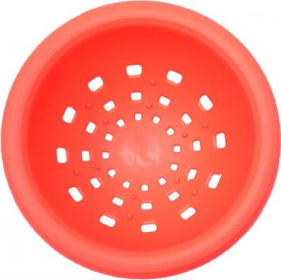 Nid en plastique rouge sans attaches