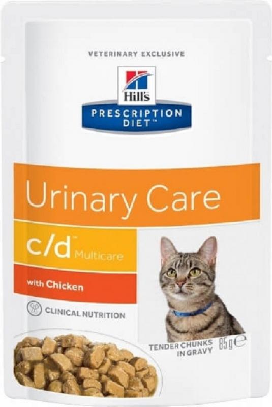 Sachet fraîcheur HILL'S Prescription Diet C/D Multicare Urinary Care pour chat adulte