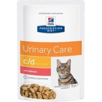 Sachet fraîcheur HILL'S Prescription Diet C/D Multicare Urinary Care pour chat adulte