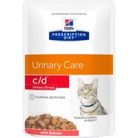 Sachet fraîcheur HILL'S Prescription Diet C/D Urinary Stress pour chat adulte - 2 saveurs au choix