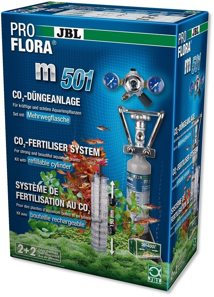Kit CO2 JBL Proflora m501  sistema de fertilización_0