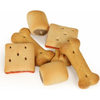 DAILYS Biscuits Gourmandises Assorties pour Chien