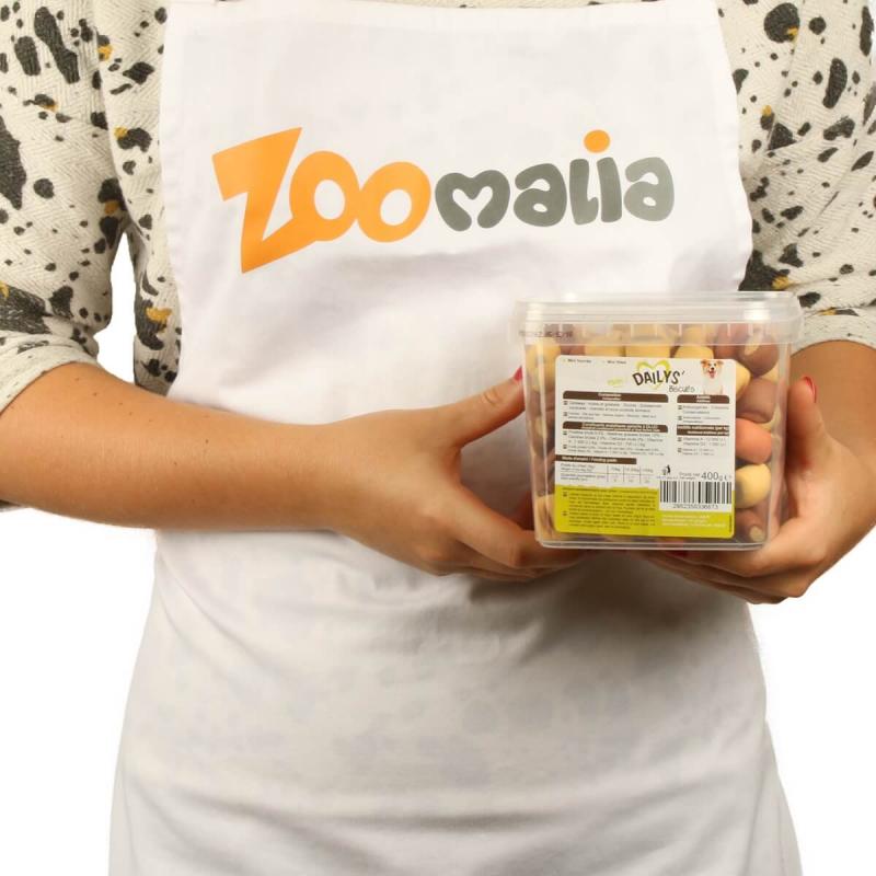 DAILYS Croq' - Minis Biscuits Fourrés pour Chien