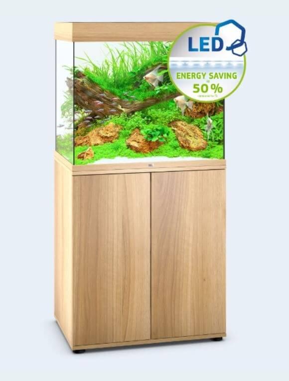 Juwel aquarium lido 200 led bois clair aquarium et meuble - Aquarium 200 litres avec meuble ...