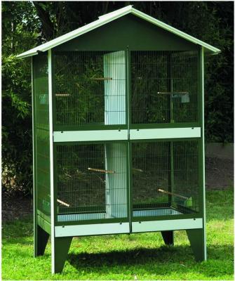 Volière d'extérieur divisible pour petits oiseaux