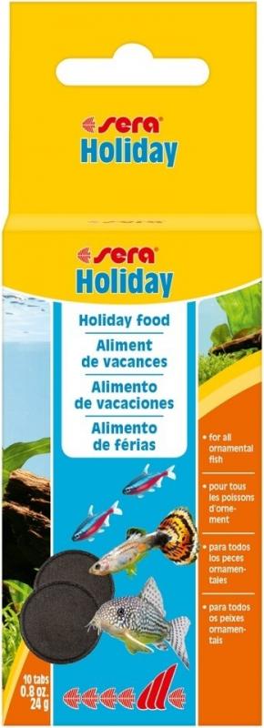 sera Holiday aliment de vacances pour poissons d'eau douce