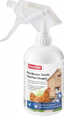 Spray stop ás pulgas vermelhas para pássaros