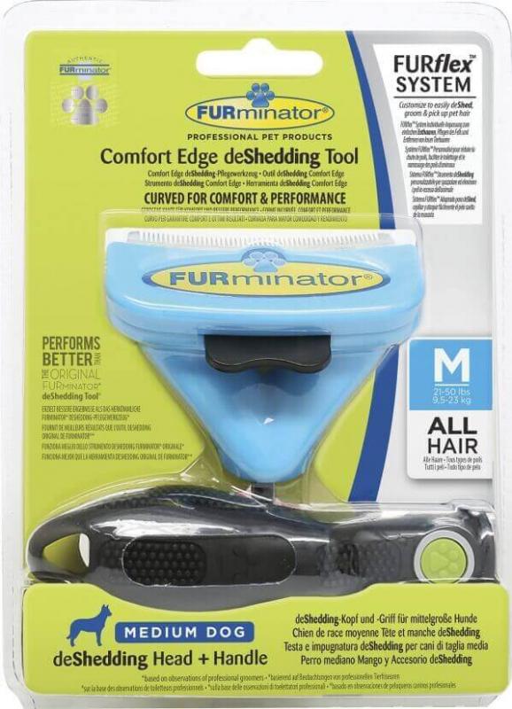 Brosse FURminator FURflex pour chien