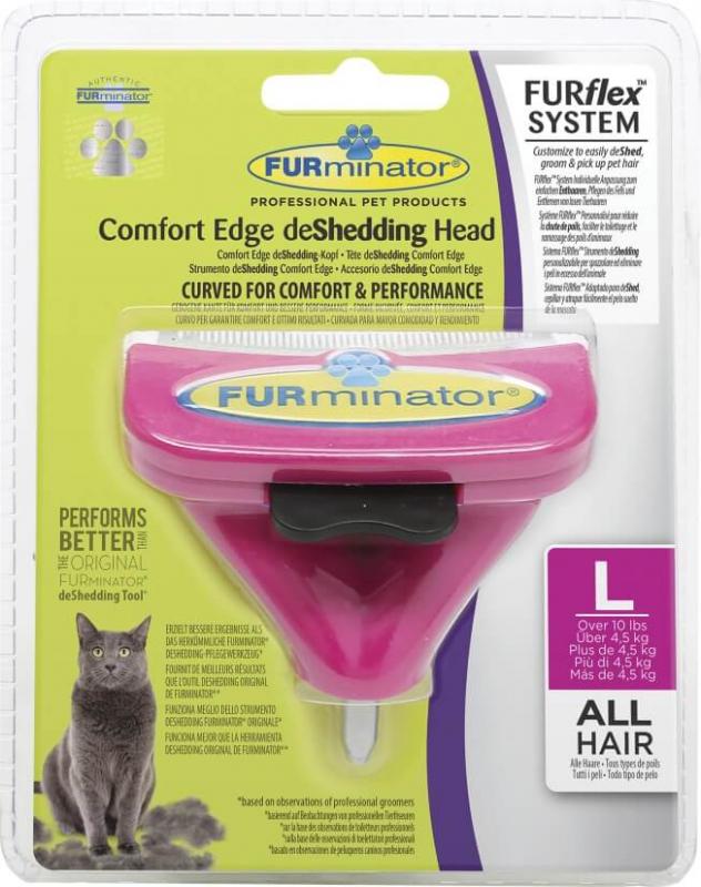 Tête pour brosse FURminator FURflex pour chat