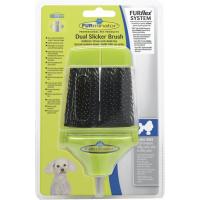 Tête carde double face pour brosse FURminator FURflex pour petits chiens