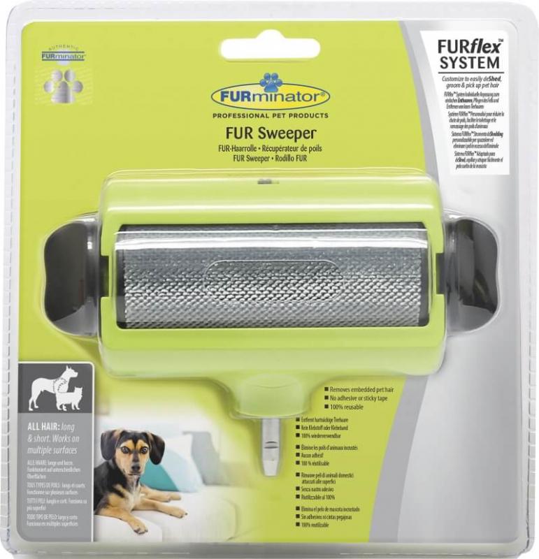 Tête récupératrice de poils pour brosse FURminator FURflex