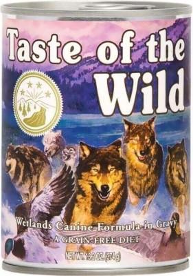 Pâtée pour chien TASTE OF THE WILD Wetlands