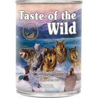Patè TASTE OF THE WILD Wetlands con Anatra Senza Cereali per cani adulti