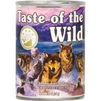 Pâtée TASTE OF THE WILD Wetlands au Canard Sans Céréales pour chien adulte