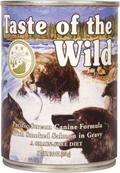 TASTE OF THE WILD Pacific Stream au Saumon Sans Céréales pour chien adulte