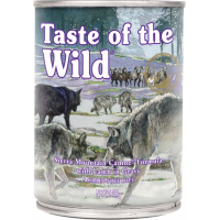 Paté TASTE OF THE WILD Sierra Mountain de Cordero sin cereales para perro adulto